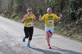 biegająca para